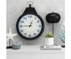 vidaXL Reloj de pared vintage 40 cm