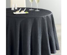 La Redoute Interieurs Mantel redondo de poliéster arrugado CERYAS gris