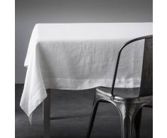AM.PM. Mantel 100% lino, Linette blanco