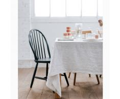 HELLO BLOGZINE X LA REDOUTE Mantel a rayas de lino lavado blanco