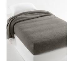 La Redoute Interieurs Manta semifunda nórdica 350g/m² 100% lana virgen woolmark gris