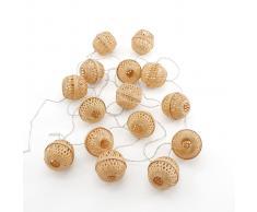 AM.PM. Guirnalda LED bambú Zibiline beige