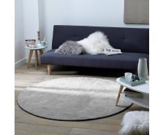 La Redoute Interieurs Alfombra redonda de tuft de algodón Renzo, modelo grande gris