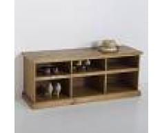 La Redoute Interieurs Mueble banco de entrada de pino, Lindley marrón