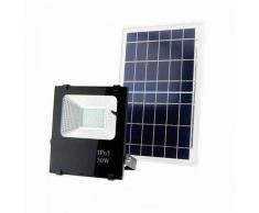 Deco-Led VLC Foco Proyector Led Solar 30w