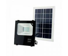 Deco-Led VLC Foco Proyector Led Solar 20w