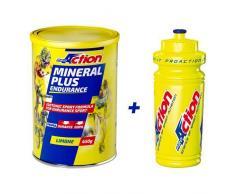 ProAction Mineral Plus Food Supplement Lemon 450g + botella de agua