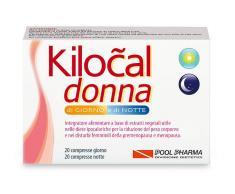 POOL PHARMA Srl Piscina Pharma Dia De La Mujer Y KILOCAL Noche de comida Suplemento 40 Tablets