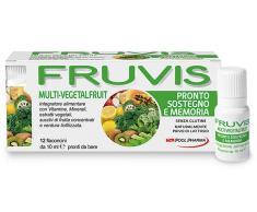 POOL PHARMA Srl Piscina Pharma Fruvis y soporte de memoria de Suplemento Alimenticio 12 viales