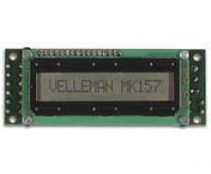 Velleman Mini Tablón De Anuncios Lcd - Mk157