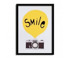 SuperStudio Cuadro con Marco SMILE -33x43-