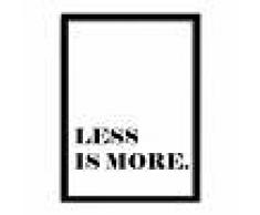 SuperStudio Cuadro con Marco LESS IS MORE -24x33-