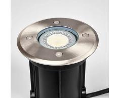 LAMPENWELT.COM lámpara empotrada en suelo acero inox Insa, IP65