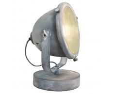 Brilliant Lámpara de mesa Carmen con diseño industrial