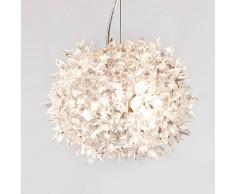 KARTELL Lámpara colgante LED diseño Bloom 28cm traslúcido