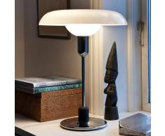 PIET HEIN Lámpara de diseño RA para escritorio, ópalo