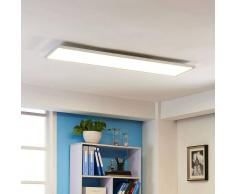 LAMPENWELT.COM Panel de techo LED Arthur, blanco universal 40 W