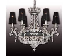 RIPERLamP Hermosa lámpara de araña de cristal Henry