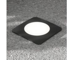 FUMAGALLI Lámpara empotrada Ceci 160-SQ 10 W negro