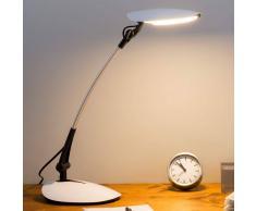 LAMPENWELT.COM Lámpara LED de escritorio Havin blanca