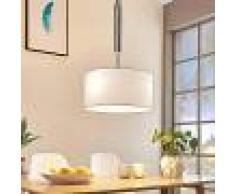 LAMPENWELT.COM Lámpara colgante Mariat redonda, altura regulable