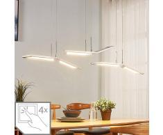 Lampenwelt.com Lámpara colgante LED Luciano atenuable