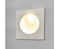 LAMPENWELT.COM Lámpara empotrada pared Ian exteriores, con LEDs