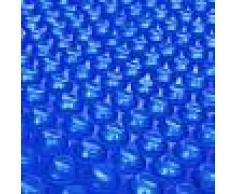 vidaXL Película Redonda Azul Flotante De Polietileno 455cm De Piscina