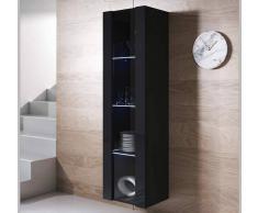 Armario colgante modelo Luke V5 (40x165cm) color negro