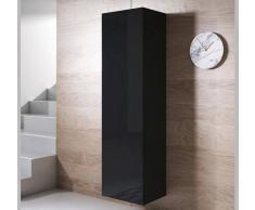 Armario colgante modelo Luke V4 (40x165cm) color negro