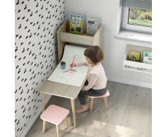 Mesa infantil con estanteria Arco Iris
