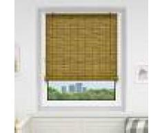 Victoria-M Estor Enrollable de Bambú, Producto Terminado, Marrón, 90x220 cm