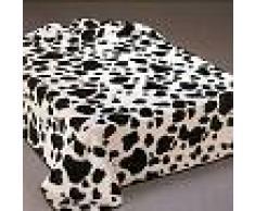 SABANALIA Manta Terciopelo Vaca Belpla (Disponible en varios tamaños)