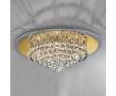 Orion Lámpara de techo expresiva TUILA 62 cm, cristal