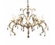 ELSTEAD Araña simpática LILY bronce met. 8 luces