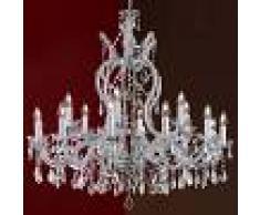 Orion Lámpara de araña de cristal María Teresa 18 brazos