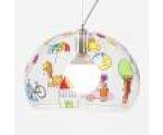 Kartell Lámpara colgante LED FL/YKids dibujo infantil