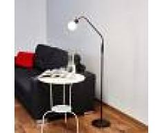 LAMPENWELT.COM Lámpara LED de pie Elaina de estilo rústico