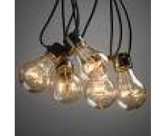 Konstmide Cadena de luces LED Biergarten, ámbar