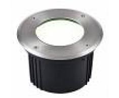 HEITRONIC Foco LED robusto montaje suelo Aquisgrán red. 16cm