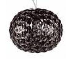 KARTELL Lámpara colgante LED de diseño Planet gris ahumado