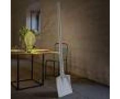 KARMAN Lámpara de pie LED de diseño Tobia, forma de pala