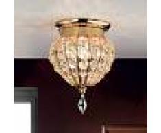 Orion Lámpara de techo de cristal MOSKVA, 17 cm
