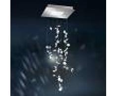 SWAROVSKI Lámpara colgante LED de cristal Crystalon, 50x86cm