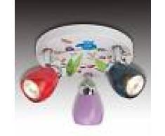 Brilliant Lámpara infantil de techo Birds en diseño alegre
