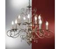 Orion Lámpara de araña 10 ll. FELICE colgante de cristal