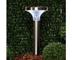 Lampenwelt.com Foco tipo antorcha LED solar Lamis
