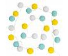 Maisons du Monde Guirnalda luminosa tricolor 24 LED L. 290 cm LIMONA