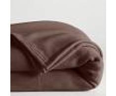 LA REDOUTE INTERIEURS Manta polar 600 g/m² MARRON