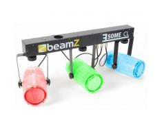 Beamz 3 Some CL LED Juego de Luces 5 piezas Barra T 171-RGBW-LED transparente (Sky-153.740)